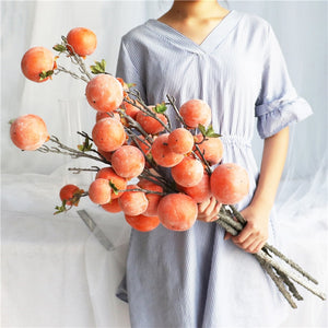 Beautiful Faux Persimmons