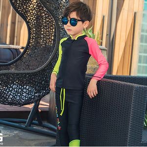Boys Two Piece Swimsuit