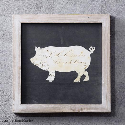 Farmhouse Chic Animal Wall Art