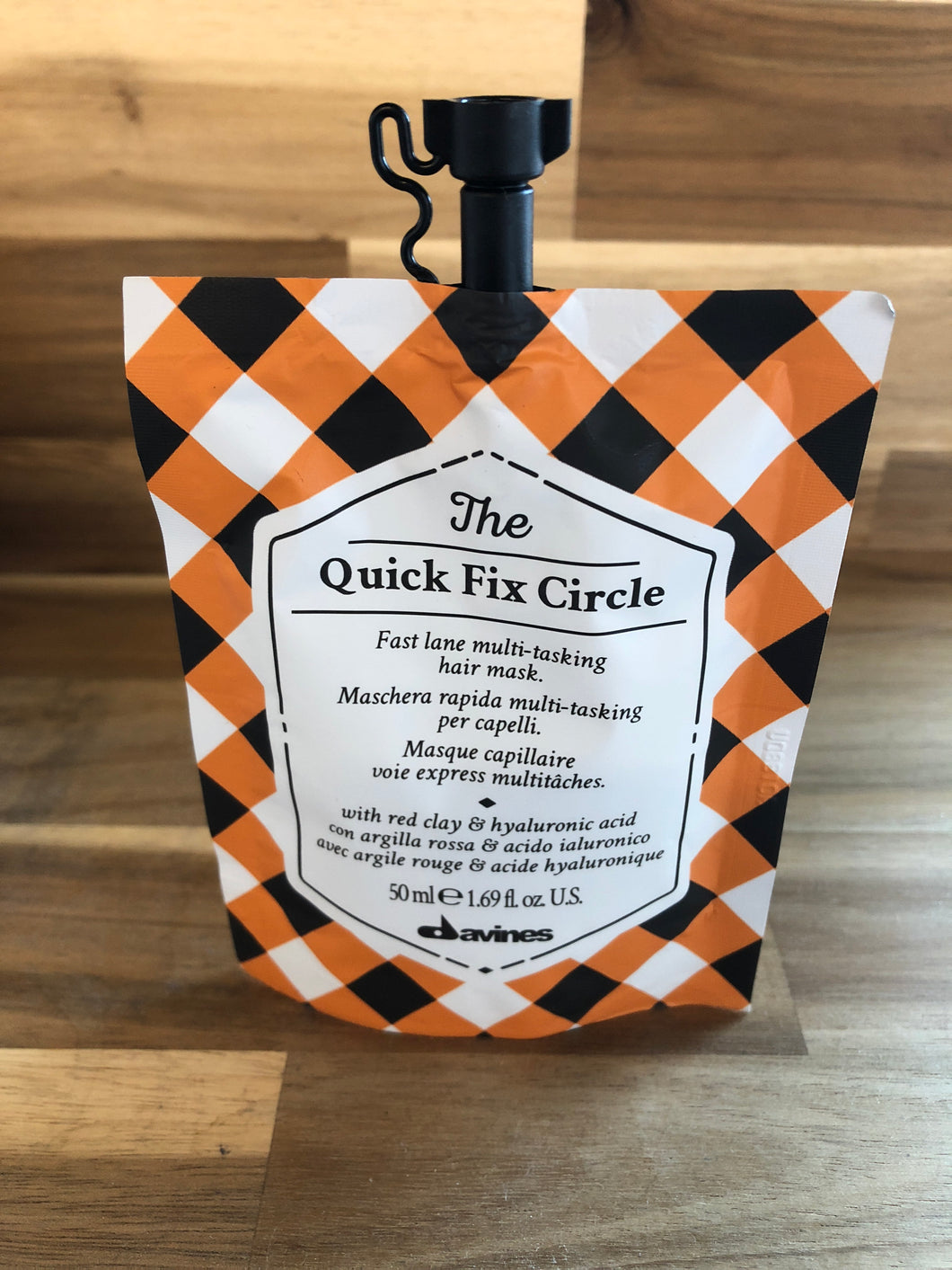 Quick Fix Circle Hair Mask
