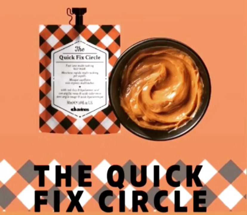Davines Quick Fix Circle Mask