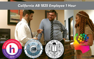 California AB 1825 / SB 1343 Employee 1 Hour (English) - myCEcourse