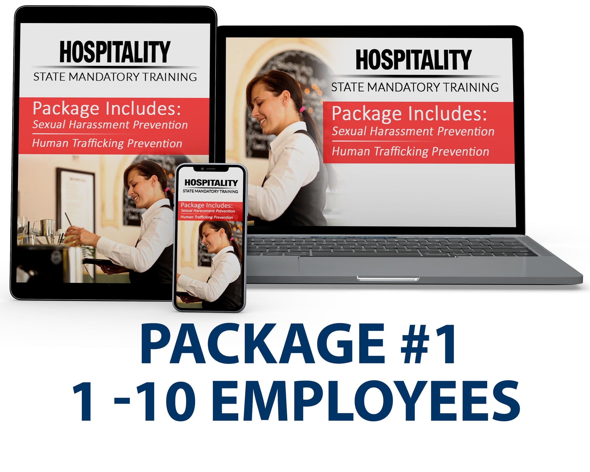 CA - Hospitality Bundle Package #1 (1-10 Employees) - myCEcourse