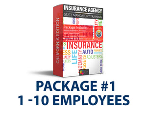 California - Insurance CE Package #1 - myCEcourse