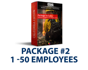 CAL/OSHA Emergency Wildfire Smoke Safety Training Package #2 (1-50 Employees) - myCEcourse