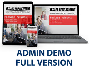 Admin CA - Test Package - Workplace Harassment - myCEcourse