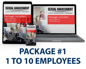 Multi-State Harassment Prevention Training Package #1 (1-10 Employees) PCMMS - myCEcourse