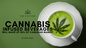 Cannabis Beverages Will Make Up 30% Of Canadian Market