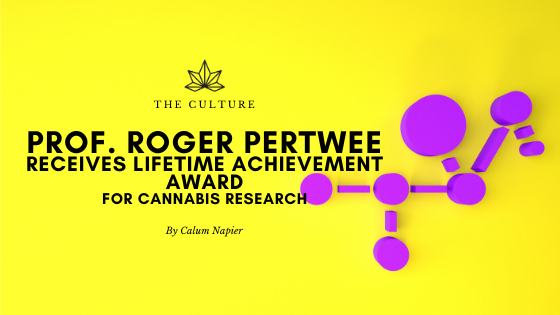 Lifetime Achievement For Cannabis Research Pioneer