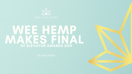 The Wee Hemp Company makes Elevator Awards Final