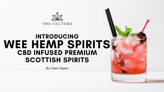 "Introducing Wee Hemp Spirits - You say ""It Canna'B""...Wee Say ""It Can""..."