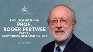 The Wee Hemp Company's Interview with Professor Roger Pertwee | Part 2 - Cannabinoid Research History