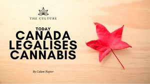 TODAY Canada legalises cannabis for recreational use