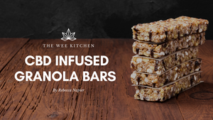 CBD Infused- Hemp, Chia, Quinoa & Banana Protein Granola Bars