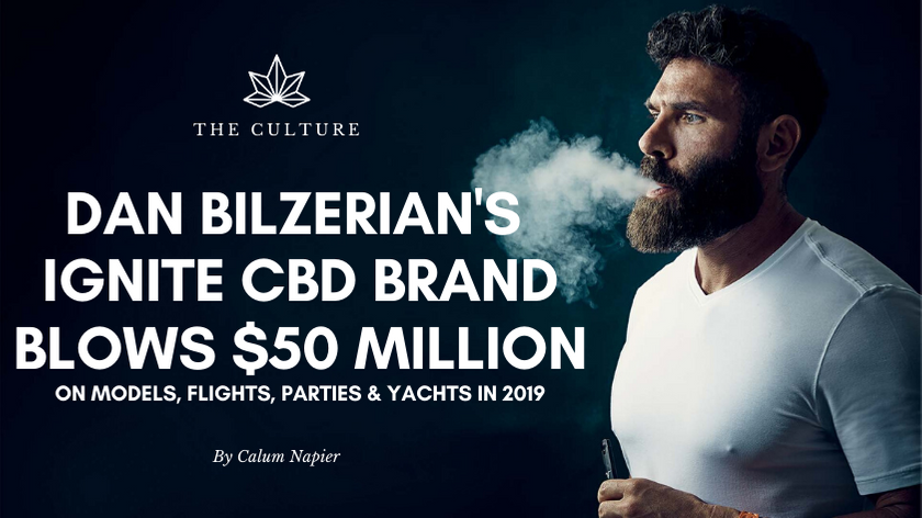 Dan Bilzerian's Ignite CBD Brand Blows $50 Million On Models, Flights, Parties & Yachts In 2019