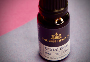 Full Spectrum CBD Drops 5% Cannabidiol - The Wee Hemp Company, The multi award winning CBD company | CBD Oil Shop | Cannabidiol drops | Aberdeen & Aberdeenshire | CBD Oil, CBD Balm, CBD Vapes E-liquid, CBd Cream, CBD Full Spectrum CBD Oil, Broad Spectrum