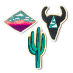 Diamond Desert Trio Patches