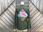Desert Sun Ray Military Shirt
