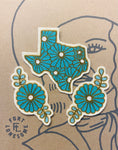 Texas Floral Patch Set