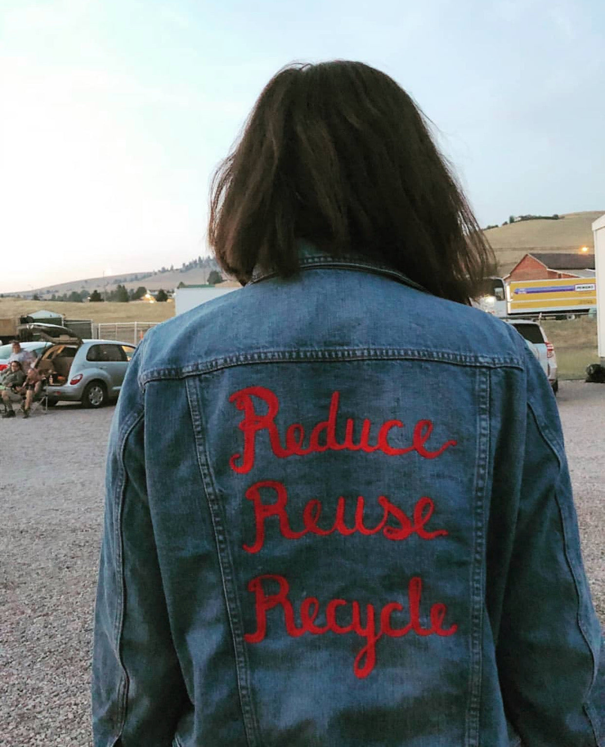 Custom Jacket Work - Big Words