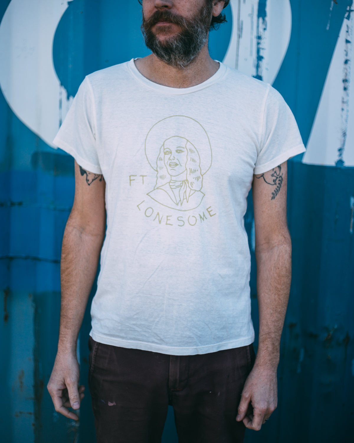 Jungmaven + Ft Lonesome Hemp-Blend T-Shirt