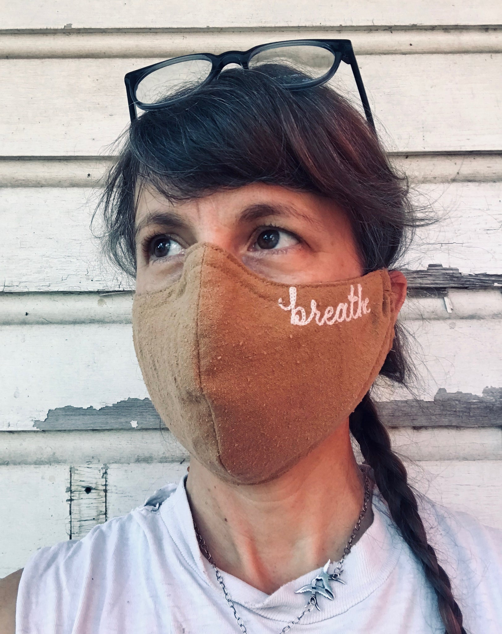 Ft Lonesome x Miranda Bennett Studio Buy One, Give One Masks
