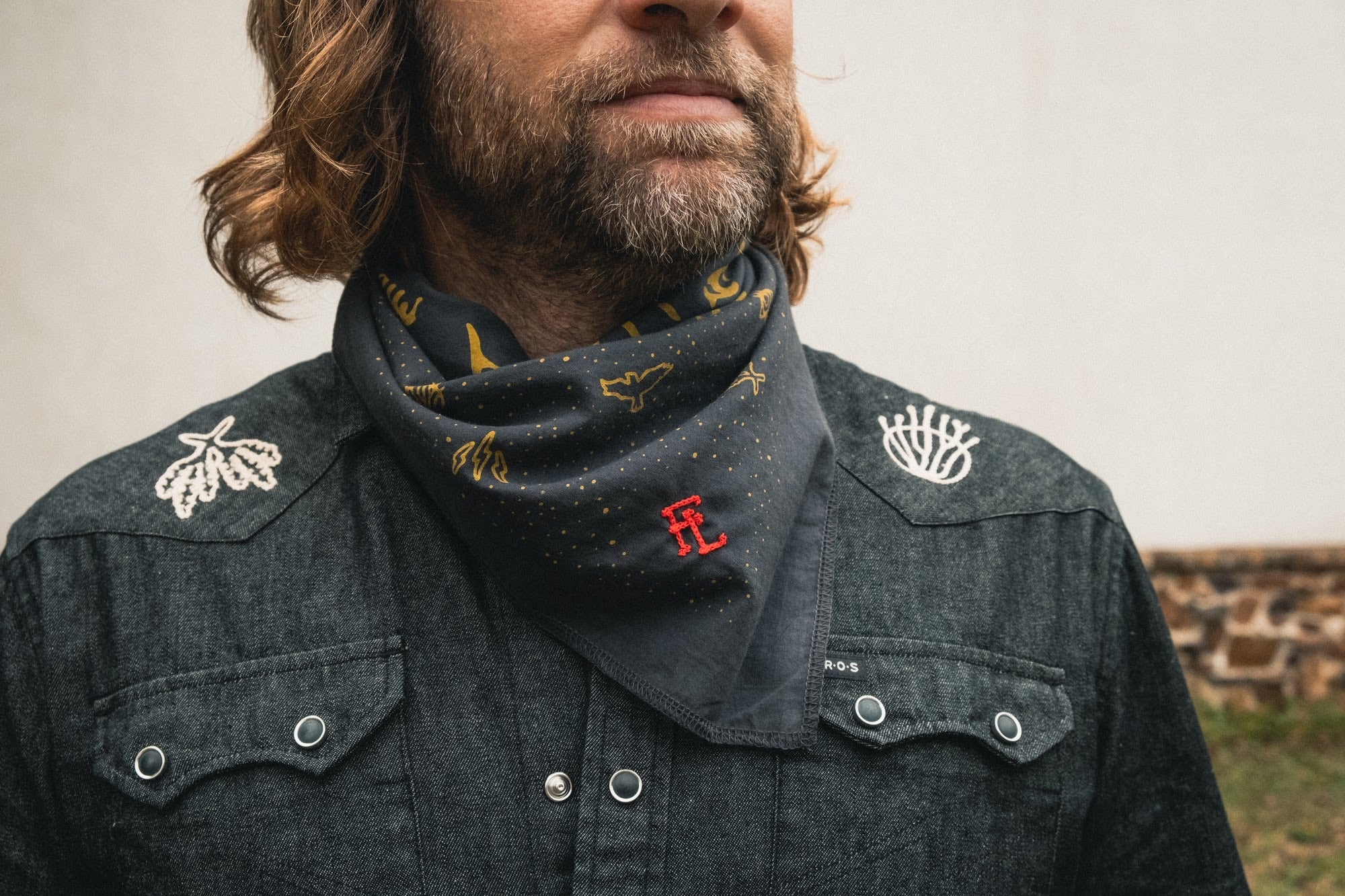 Ft Lonesome x Howler Bros CUSTOMIZABLE limited-edition ICON bandana