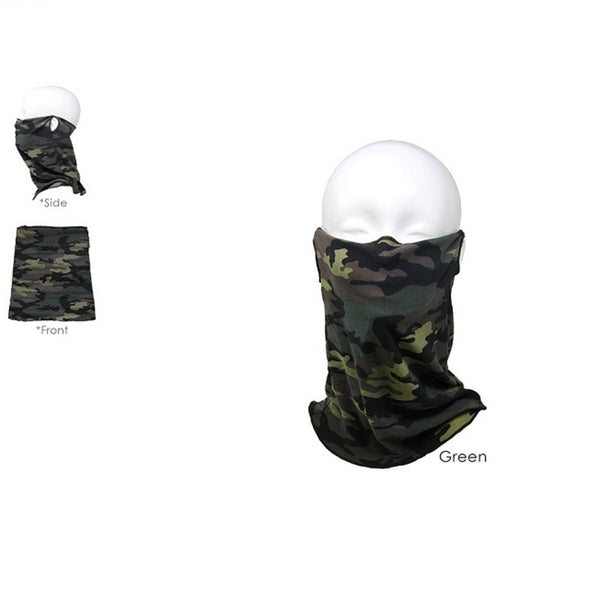 Camo Tube Face Mask