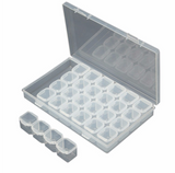 Bead Storage Box with 28 Containers - The Dome Inc