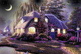 DIY Diamond Painting - Cottage in the Night - The Dome Inc