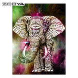 DIY Diamond Painting -  Elephant - The Dome Inc Diamond Painting