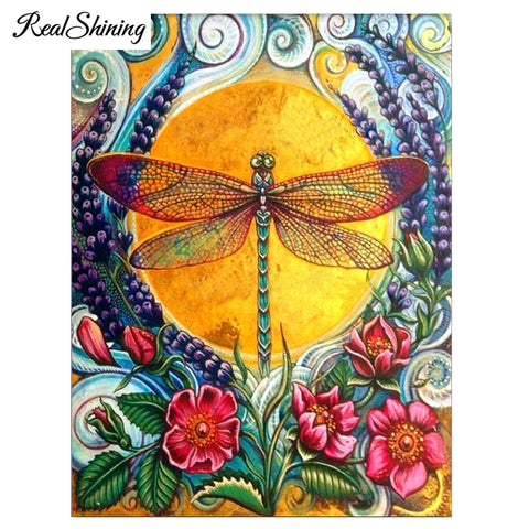 DIY Diamond Painting - Dragonfly Decoration - The Dome Inc
