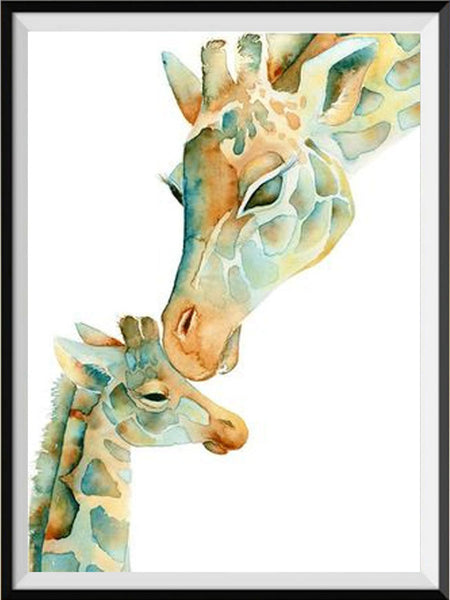 DIY Diamond Painting - Giraffes - The Dome Inc