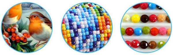Custom Diamonds 447 Colors Round/Square - The Dome Inc Diamond Painting