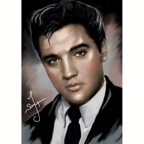 DIY Diamond Painting - Elvis Presley - The Dome Inc