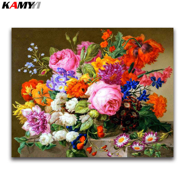 DIY Diamond Painting - Bucket Flowers 23