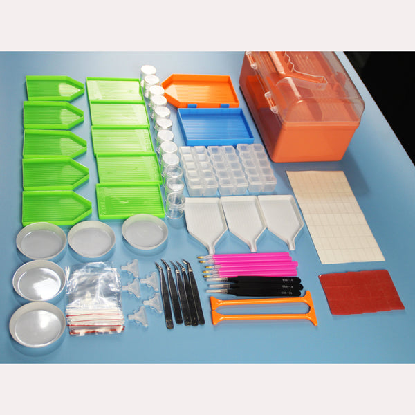 Diamond Painting Tool Set with BOX!