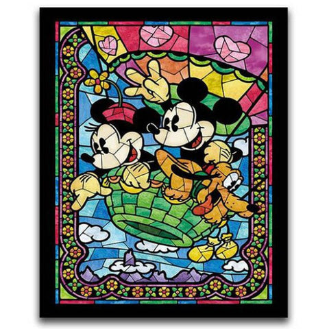 DIY Diamond Painting - Mosaic Mickey and Minnie