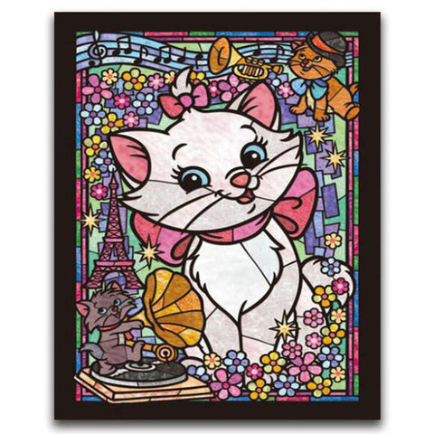 DIY Diamond Painting - Mosaic Kitty