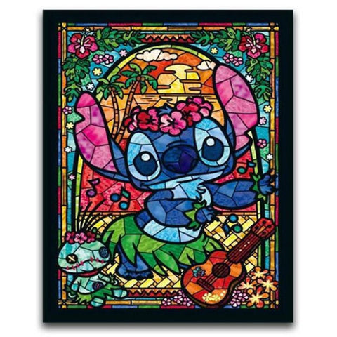 DIY Diamond Painting - Mosaic Lili and Stitch