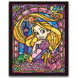 DIY Diamond Painting - Mosaic Rapunzel