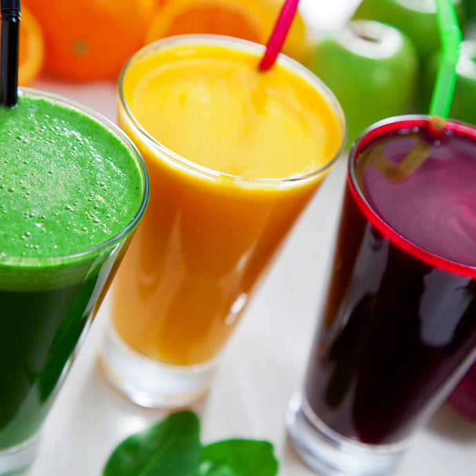 The Hangover Cleanse with 3 different shots