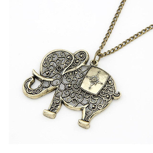 Elephant Chain Necklace
