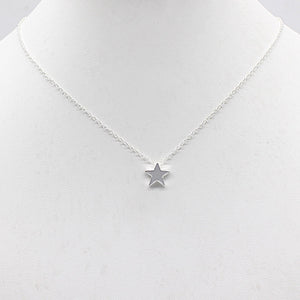 Star/Moon Jewelry Silver/Gold Pendant Necklace