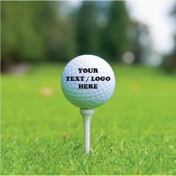 Customized Golf Ball with Your Text, Logo or Image