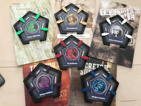 Player Card Holders for Betrayal At House On The Hill