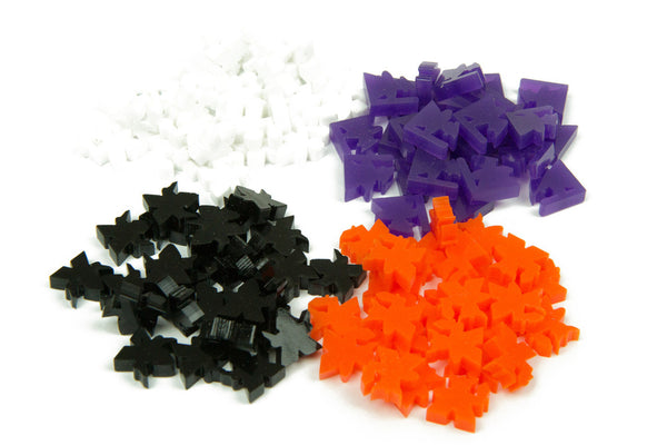 Waterdeep Acrylic Meeple Tokens (100 pcs)