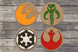 Star Wars cork Coasters
