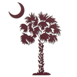 Palmetto Tree South Carolina SC | Oval | Decal | Sticker | Vinyl