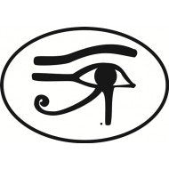 EYE of HORUS Astrology Sign | Oval | Decal | Sticker | Vinyl
